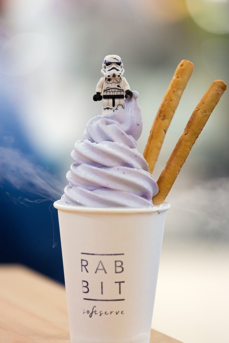 Yee-16 Blueberry Soft Serve-I hope Lord Vader doesn't mind me borrowing his smoke machine-Rabbit Soft Serve